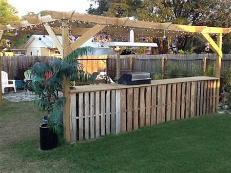 backyard bar plans recycled pallet patio bar plans recycled things