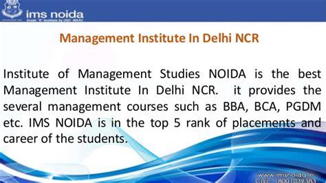 Top Mba Schools In Delhi Ncr by Best B School In Delhi Ncr