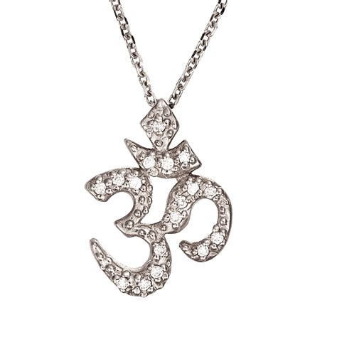 om pendant pav 233 manon jewelry