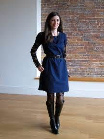 what color tights to wear with navy dress thoroughly me 10 ways to wear a navy dress