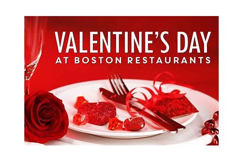 valentine's day restaurant deals boston