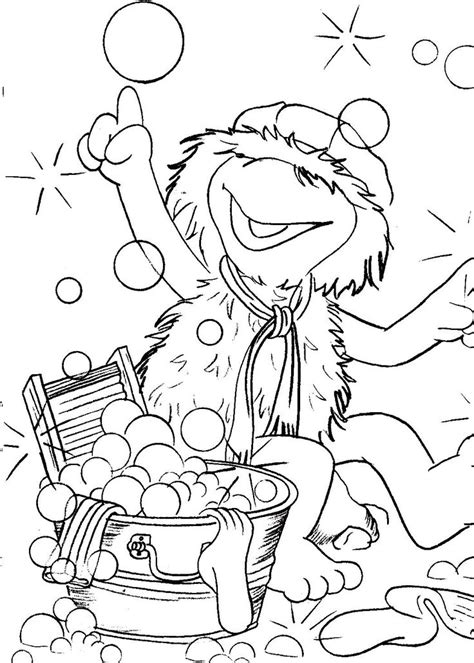 the rock coloring book fraggle rock coloring pages muppet central forum