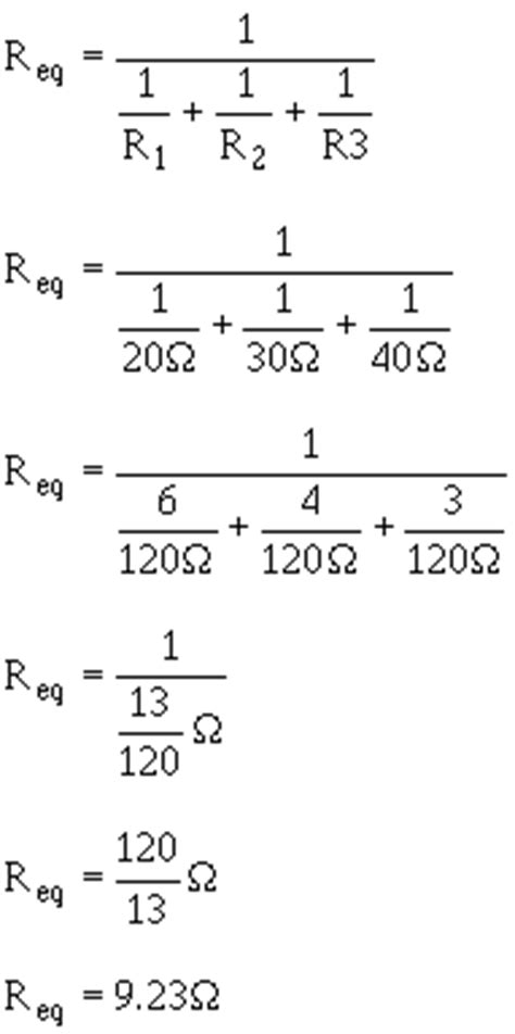 what is the formula for calculating total resistance in a series circuit with three resistors navy electricity and electronics series neets module 1 3 pp61 70 rf cafe