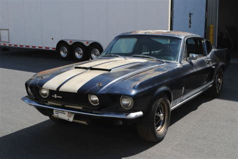 shelby mustang original 1967 shelby gt 500 original shelby mustang project needs