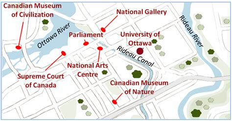 map of canada showing ottawa why study chemistry department of chemistry and