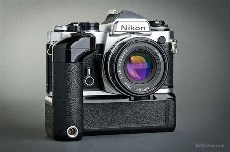 Kamera Vintage Nikon kamera nikon fe objektiv nikkor 50 mm f 1 8 motordrive md 11 nikon classic cameras