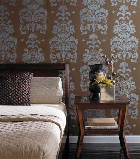 wallpaper bedroom accent wall trends and tips in wallpaper and accent wall options