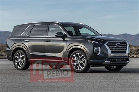 Hyundai New Suv 2020 Palisade Price by 2020 Hyundai Palisade Suv Leaked Ahead Of Official Unveil