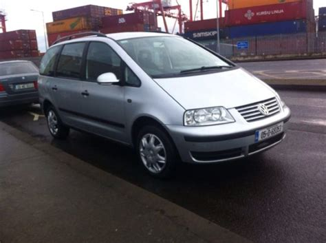 volkswagen sharan for sale 2005 volkswagen sharan for sale for sale in clontarf