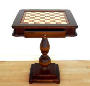 table echiquier table echiquier bois wraste