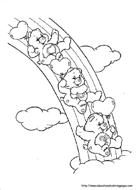 coloring pages care bears printing carebears coloring pages free for kids