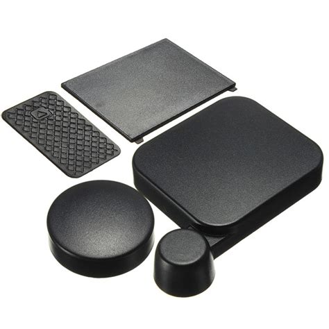 Lens Cap For Gopro Hd 3 lens cap and battery door replacement with side