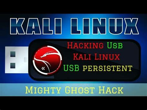 kali linux usb persistence tutorial how to create kali persistence usb easy tutorial youtube