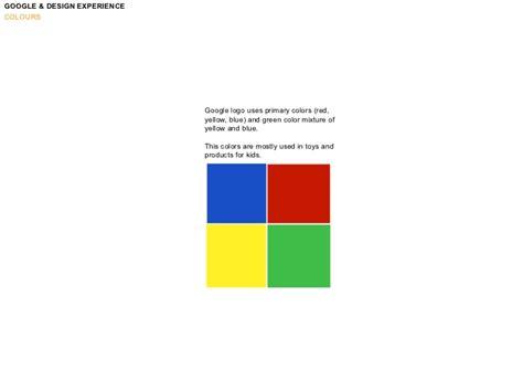 google design experience google design experience colours