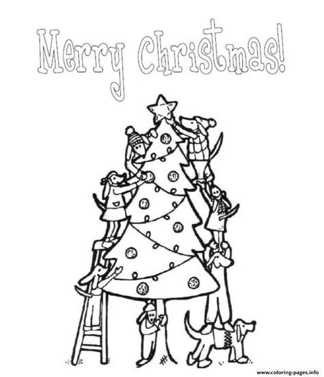 Merry Christmas Christmas Tree S For Kids Printablec5d8 Merry Tree Coloring Page