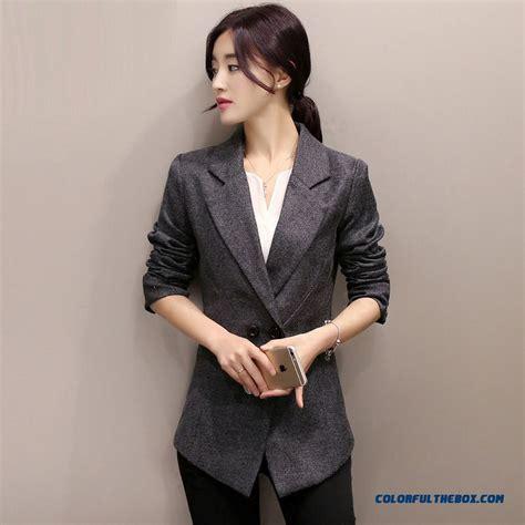 Blazer Korea Ready Size S cheap small suit jacket korean style slim plus size casual coats sale