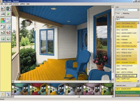 screenshot color style studio paint color schemes choose select house