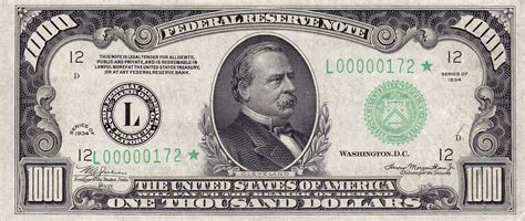 1000 images about the of file 1000 usd note series of 1934 obverse jpg