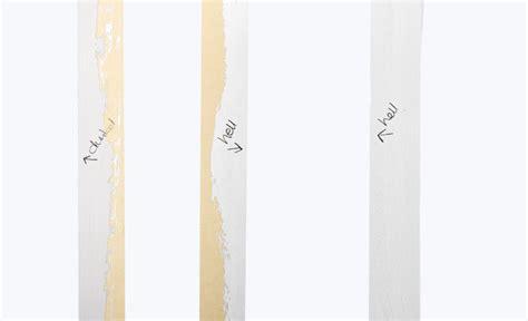 Streifen Beim Streichen by Streichen Farbe In Streifen Maltechniken Selbst De