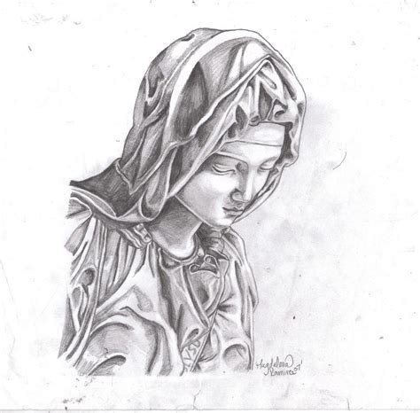 virgin mary by kissmyanime on deviantart
