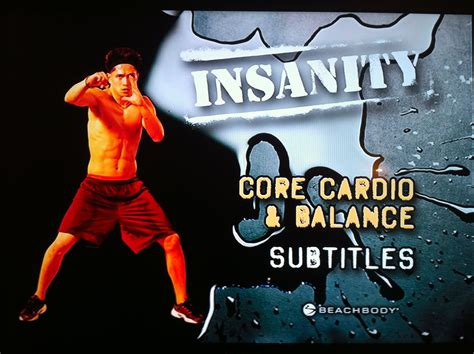 imagenes insanity workout insanity core cardio balance recovery week yes it s
