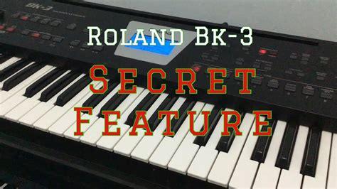 roland bk  review secret feature youtube