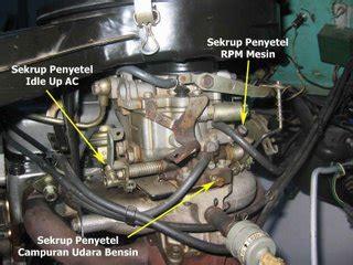 cara stel karburator mobil sendiri cara memperbaiki
