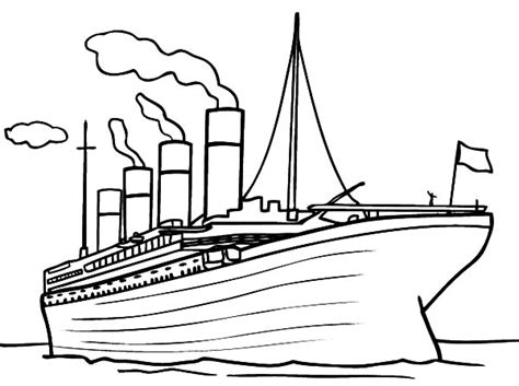 printable titanic coloring pages coloring me