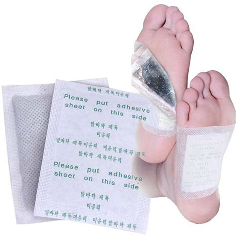 Relief Detox Foot Pads by 10pcs Verseo Detox Foot Cleansing Patch
