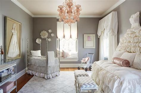 Twins Bedroom Ideas gray distressed french 4 poster crib french nursery