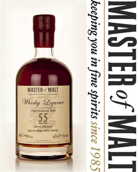 master of malt 55 year old speyside whisky liqueur