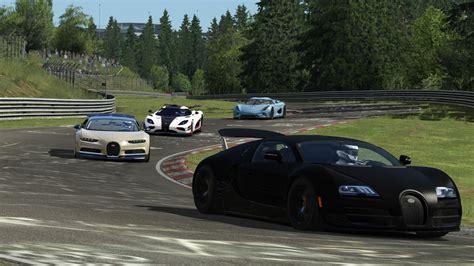 koenigsegg bugatti bugatti vs koenigsegg n 252 rburgring assetto corsa