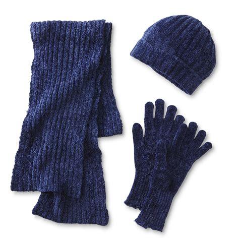 covington s chenille winter hat scarf gloves