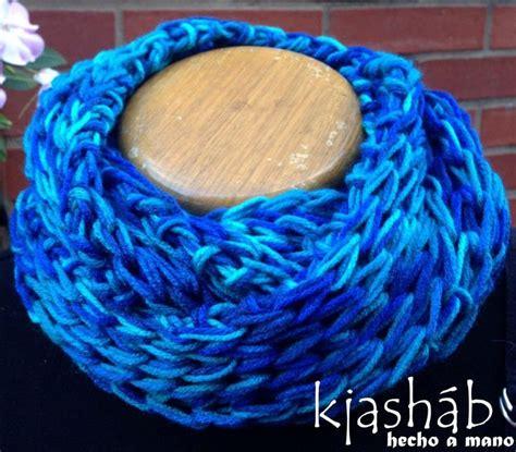 bufanda collar tejido en dos agujas bufanda cuello circular tejido en dos agujas tejido en
