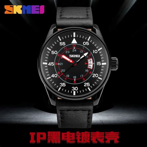Jam Tangan Vinergy Water Resistant skmei jam tangan analog pria 9113cl black black jakartanotebook
