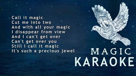 coldplay magic lyrics coldplay magic karaoke lyrics instrumental youtube