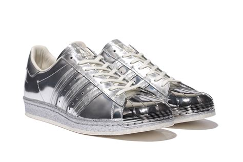adidas superstar  metallic silver herbusinessukcouk