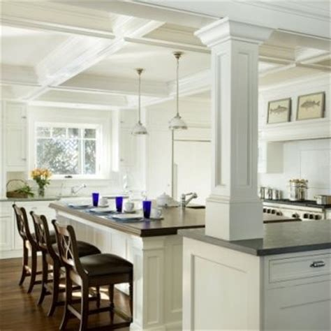 kitchen island with columns 17 best images about kitchen island columns on pinterest