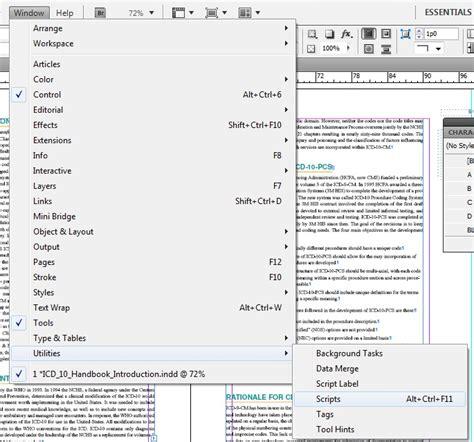 layout zone script indesign epub indesign scripts epubsecrets