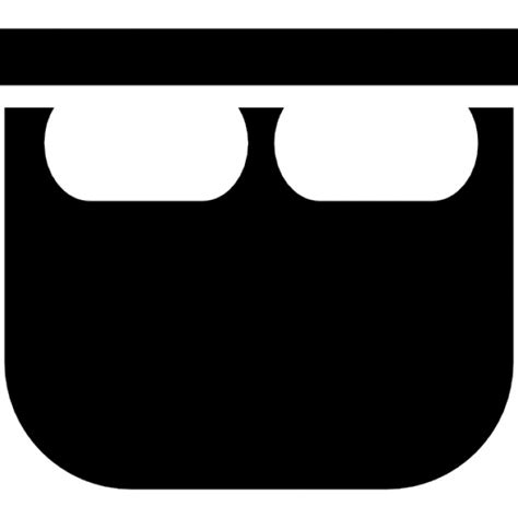 wanne mit zwei l 246 chern der kostenlosen icons