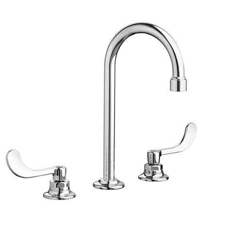 standard bathroom faucet american standard monterrey 8 in widespread 2 handle bathroom faucet in polished chrome 6540145