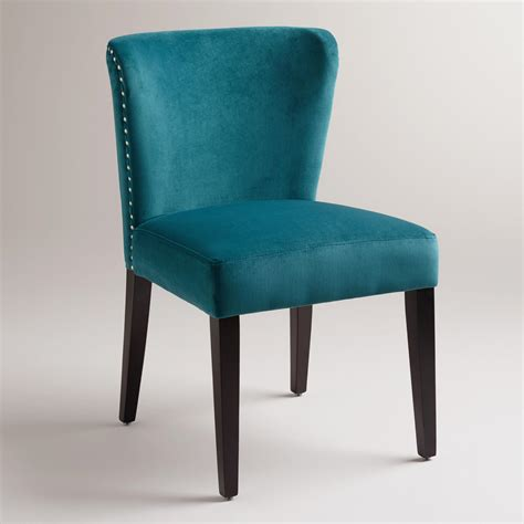 teal dining room chairs pacific dining chairs set of 2 from cost plus world
