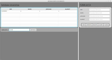 belajar membuat database xp belajar javafx membuat aplikasi sederhana yang