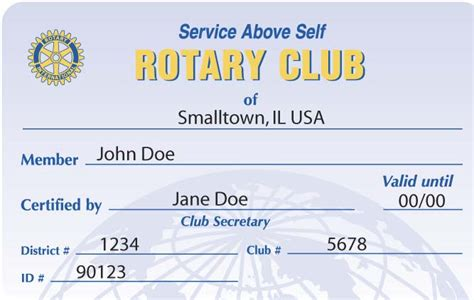 Rotary Membership Card Template by Woodbury Rotary Weekly Bulletin Archive Feb 19 2008