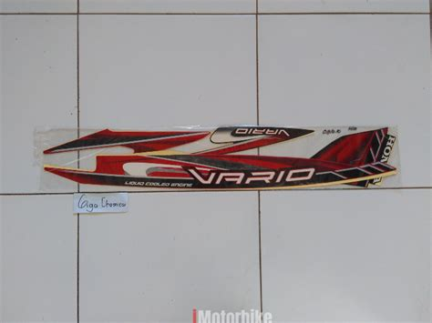 Stripping Striping Sticker Stiker Lis Vario 2009 striping stiker lis motor honda vario 2009 2010 stickers