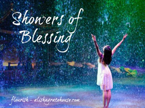 God Shower His Blessings by Showers Of Blessing