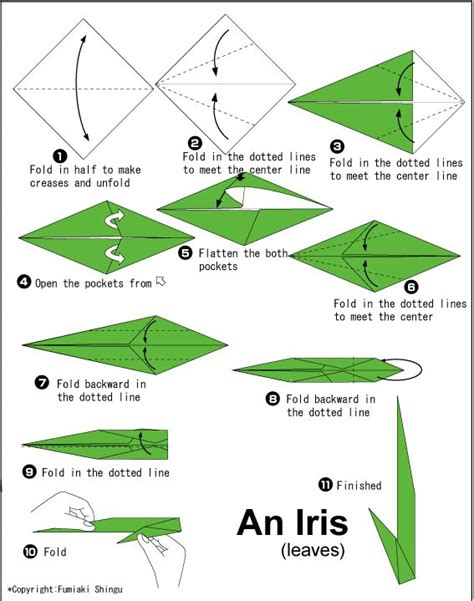 Iris Origami - 31 best images about origami irises on simple
