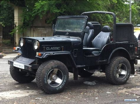 classic jeep modified mahindra jeep classic modified