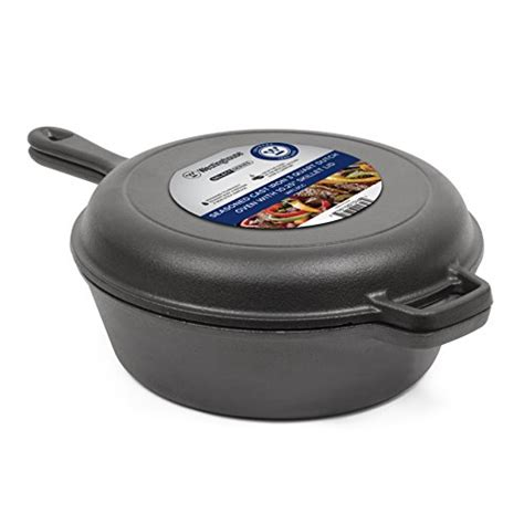 amazon skillet westinghouse wfl3cc select series seasoned cast iron 3