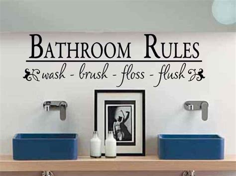 bathroom wall art sayings modern vinyl wall art decals wall stickers wall quotes